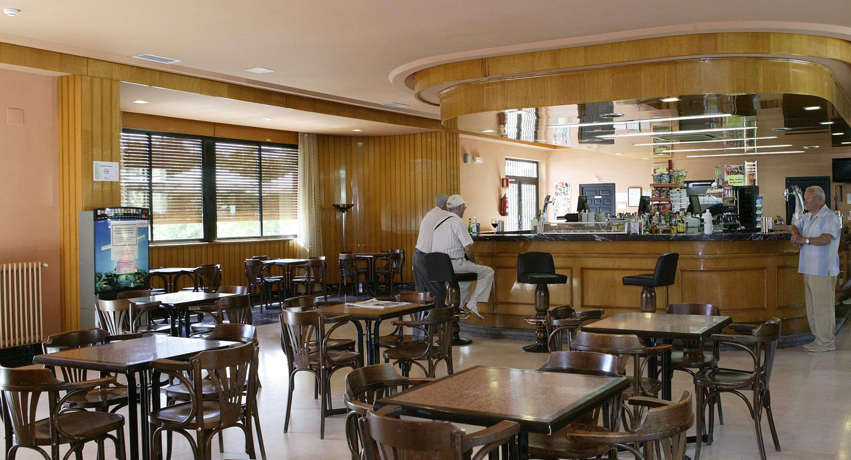 Cafetería del Balneario de Ledesma