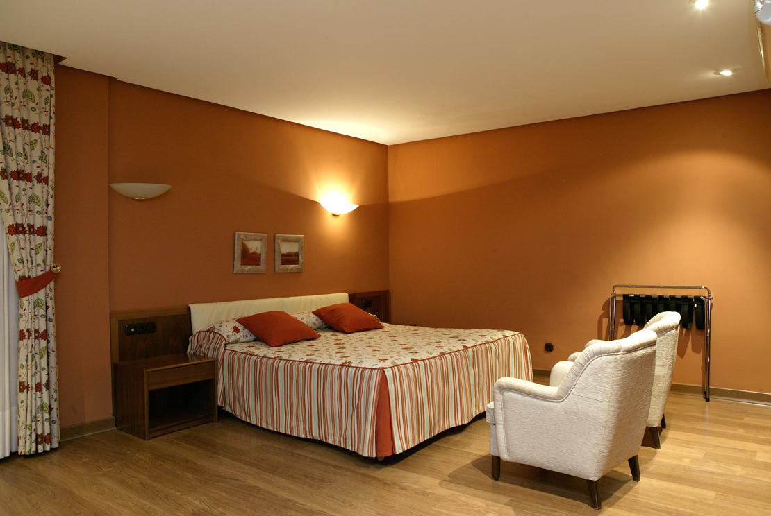 Habitación Suite del Balneario de Ledesma