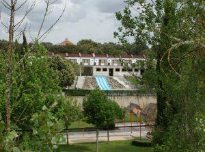Instalaciones del Balneario de Ledesma