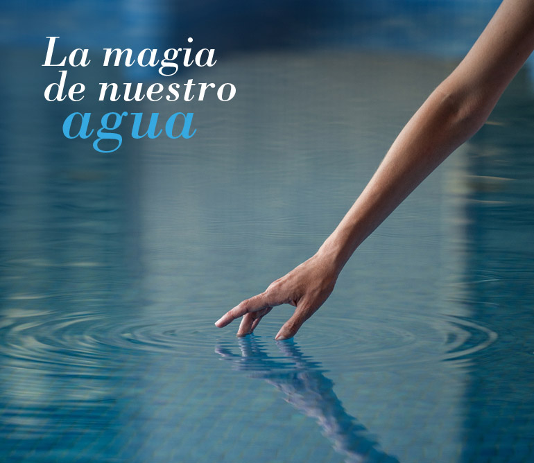 La magia de nuestro agua termal