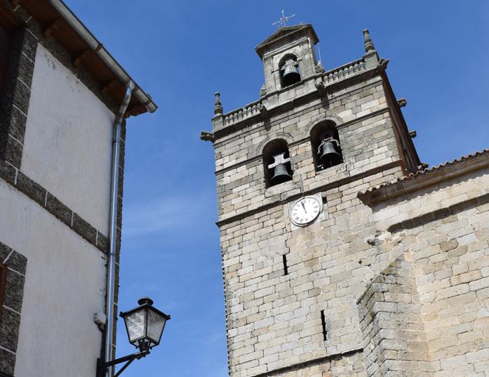 Torre de la iglesia de Ledesma