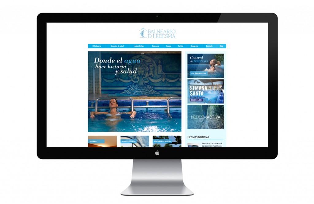 Nueva web del Balneario de Ledesma