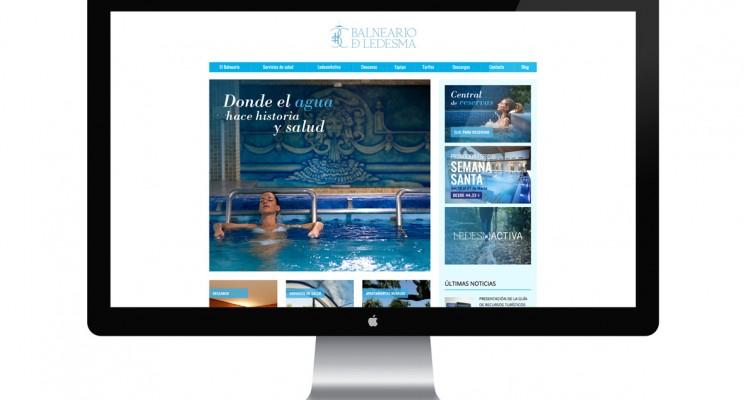 Presentación de la web y la nueva temporada de baños
