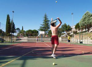 Instalaciones deportivas del Balneario de Ledesma