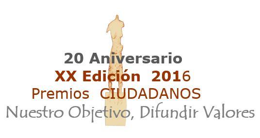 Premio Ciudadanos 2016 de la