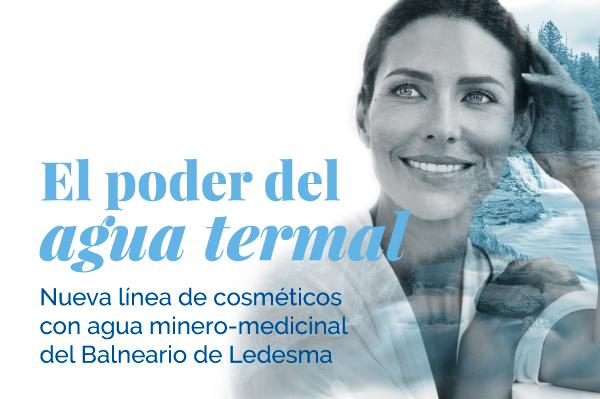 Web de la línea de cosmética del Balneario de Ledesma