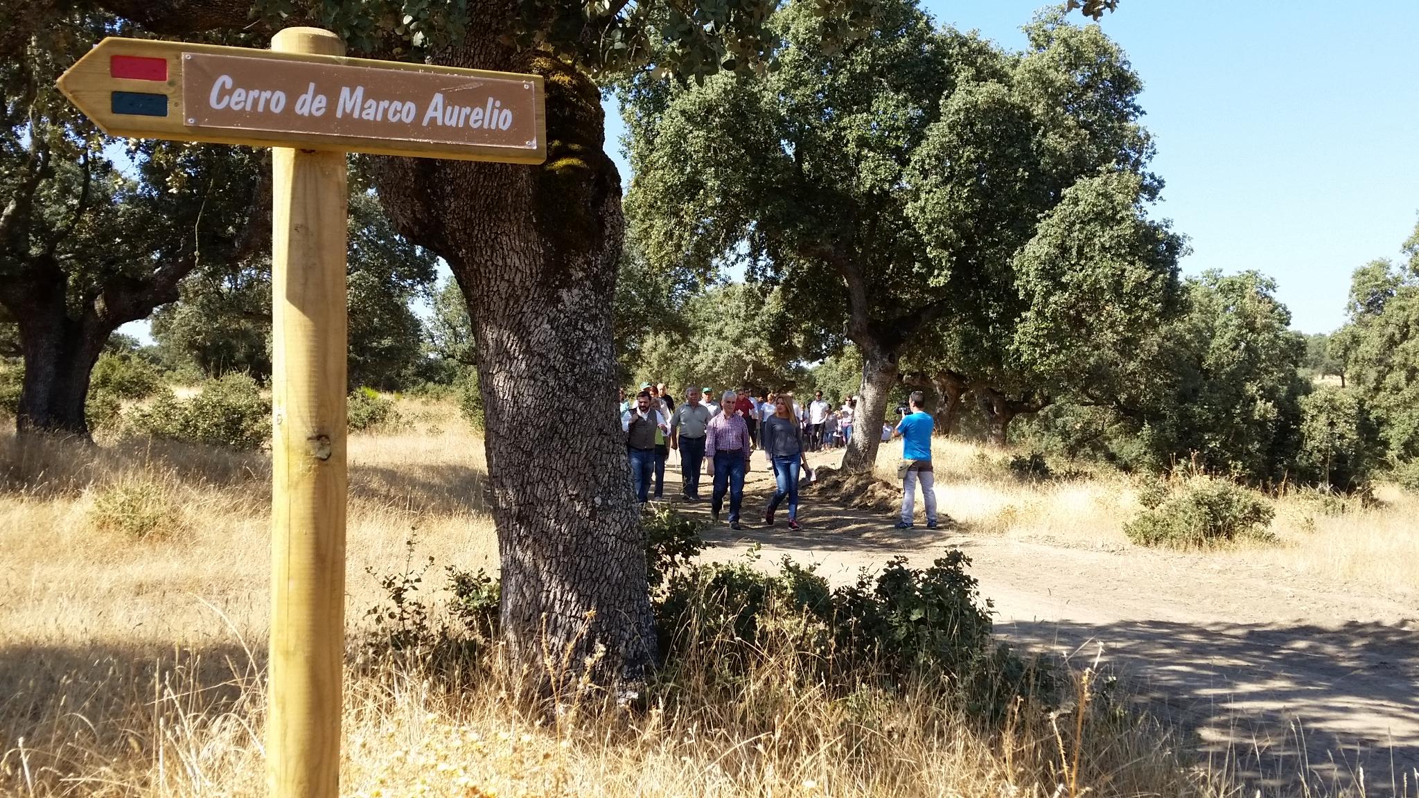 Ruta del Cerro de Marco Aurelio