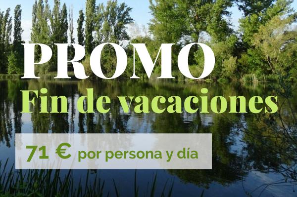 Promoción fin de vacaciones en el Balneario de Ledesma
