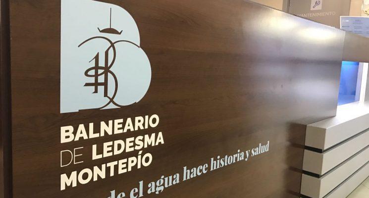 El Balneario señaliza con su nueva marca la instalación para destacar el potencial de su oferta termal y turística