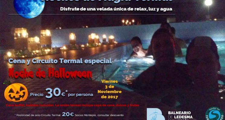 Puente de Halloween: Noche mágica termal especial y actividades para tod@s