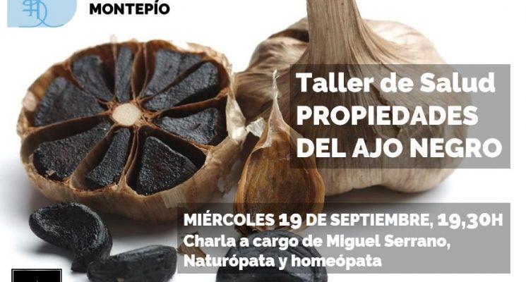 El ajo negro en nuestros talleres de salud: charla del naturópata Miguel Serrano (día 19S, a las 19,30h)
