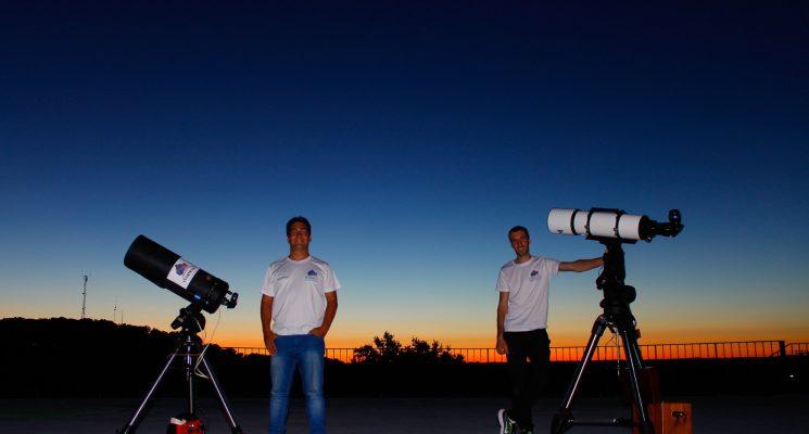Disfruta de nuestros Talleres de Astronomía-Balneario de Ledesma, con StarTrails