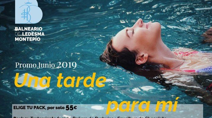 Promo especial Primavera 2019: «Una tarde para mi» con 3 packs salud y belleza
