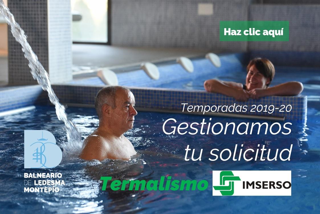 Gestiona tu programa de termalismo Imserso con nosotros