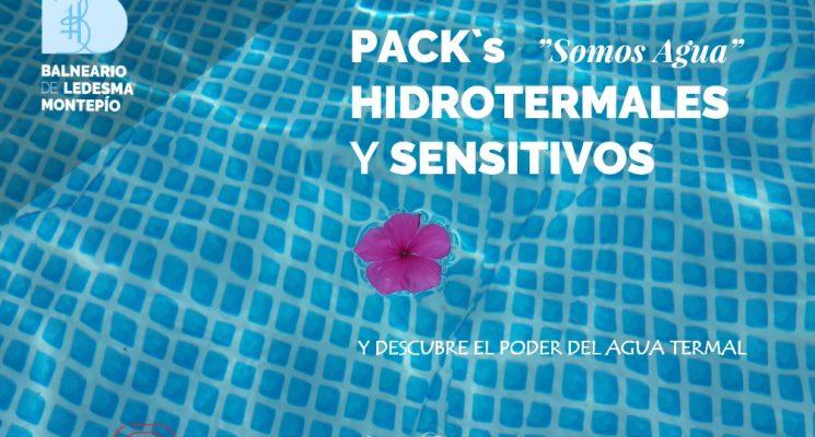 ¿Conoces nuestros packs hidrotermales y sensitivos? la fórmula es sencilla Agua+Bienestar=Salud