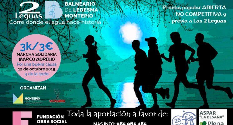 Las 2 Leguas Solidarias: sábado 12-Oct Marcha en favor de Insolamis y Aspar La Besana-Plena Inclusión